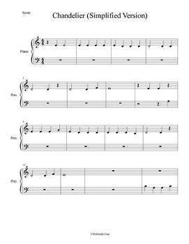 Chandelier (Simplified Version)