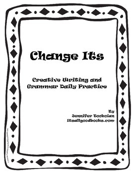 Change Its:  Daily Grammar Games to teach Parts of Speech