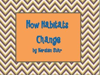 Changes In Habitats