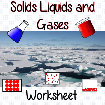 Changes in Materials and Particles, Solids, Liquids and Ga