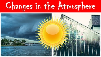 Change in the Atmosphere Lesson with Power Point, Workshee