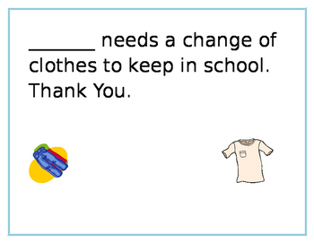 Changes of Clothes
