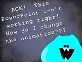 Changing Animations in PowerPoint Directions