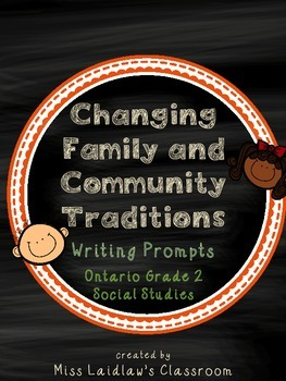 Changing Family and Community Traditions: Ontario Grade 2