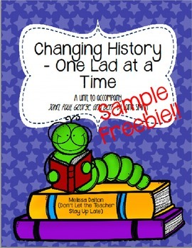 Changing History One Lad at a Time SAMPLE FREEBIE - John,
