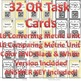 Changing Metric Units of Measurement QR Task Cards