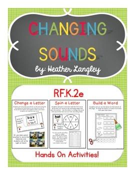 Changing Sounds RF.K.2e
