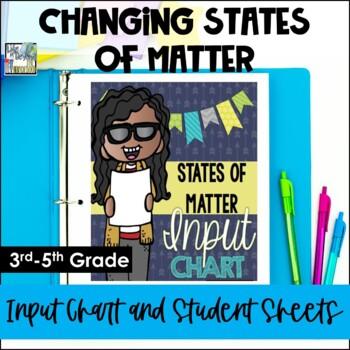 Changing States of Matter Input Chart & Student Sheets - 3