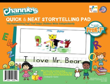 Channie's Quick & Neat Storytelling Pad for Prek-1st Grade