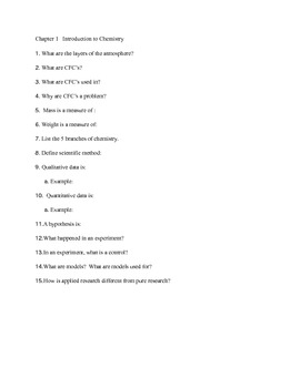 Chapter 1-2 questions
