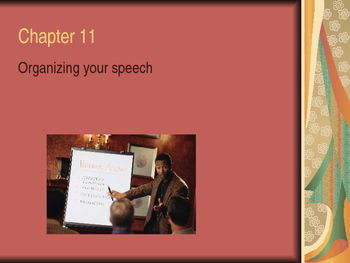 Chapter 11 Notes for Speech