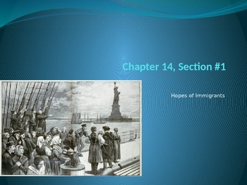 Chapter #14 - Creating America Notes