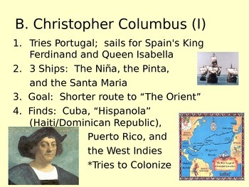 Chapter 2 powerpoint for Prentice Hall America:  History o
