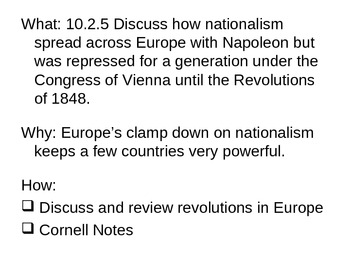 Chapter 22 - The Revolutions in Europe Review - Powerpoint
