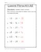 Chapter 3 Lesson 6 Quiz