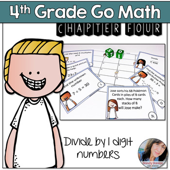 Chapter 4 Go Math Chapter Division Review Game