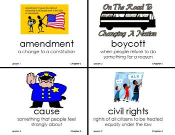 Chapter 5 Citizenship Vocab - Grade 3