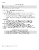 Chapter 5 Outsiders- Common Core Aligned, Literary Analysi