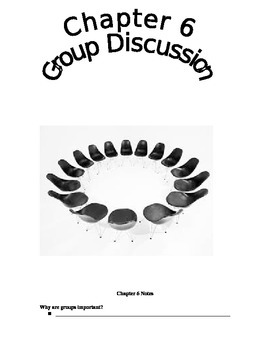 Chapter 6 Group Discussion