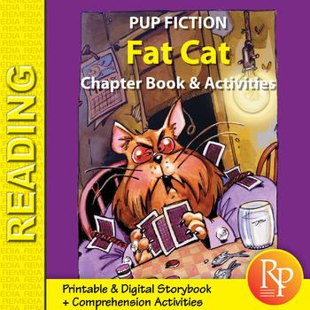 Chapter Book & Activities - Pup Fiction Adventures: Fat Ca
