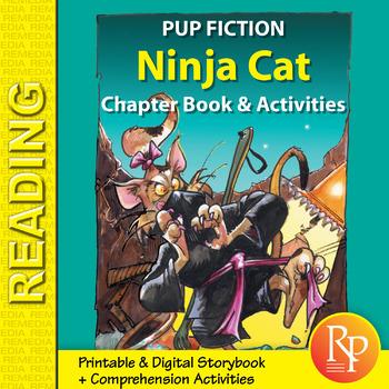 Chapter Book & Activities - Pup Fiction Adventures: Ninja Cat
