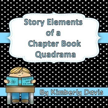 Chapter Book Story Elements Quadrama