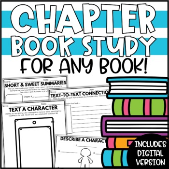 Chapter Book Study - for ANY book!