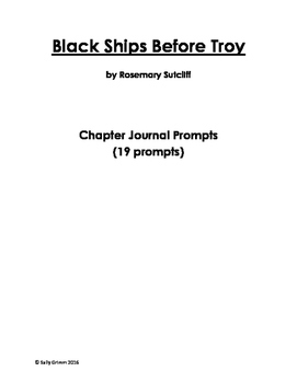 Chapter Journal Prompts for Black Ships Before Troy (Commo
