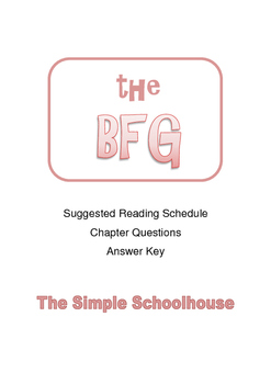 Chapter Questions for The BFG