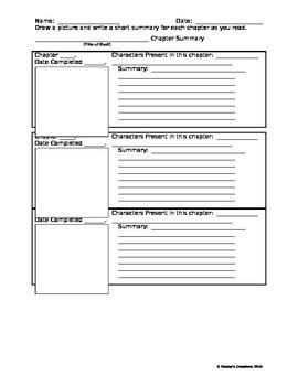 Chapter Summary Sheet