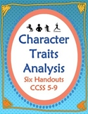 Character Analysis Six Handouts for Comparison, Conflict,