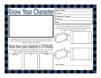 Character Analysis Sheet