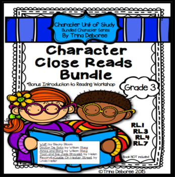 Character Analysis Unit of Study {Bundled Character Series}