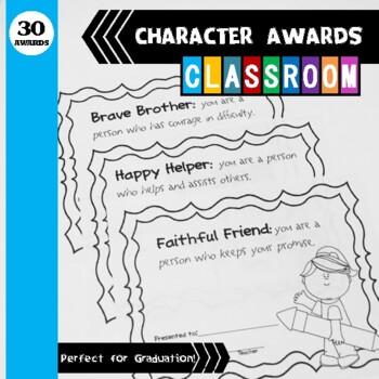 Character Awards Packet