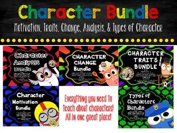 Character Bundle Motivation, Change, Traits, Analysis, and