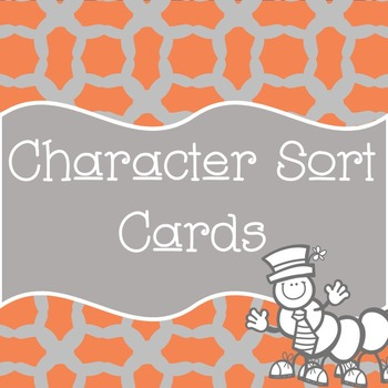 Character Cards Personality Perception Sort