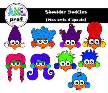 Character Clipart (Shoulder Buddies Family)