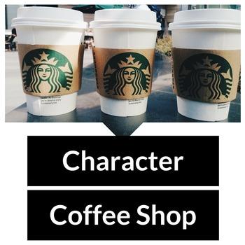 Character Coffee Shop Characterization Activity