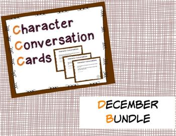 Character Conversation Cards- December