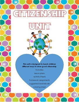 Character Counts: Citizenship Unit (No Prep)