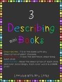 Character Description Mini Books