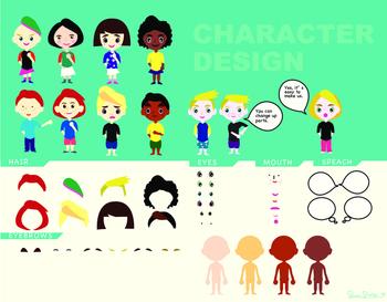 Character Design Templates