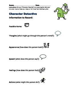 Character Detectives