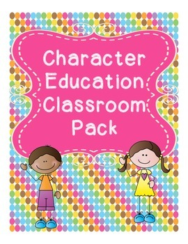 Character Education Classroom Worksheets