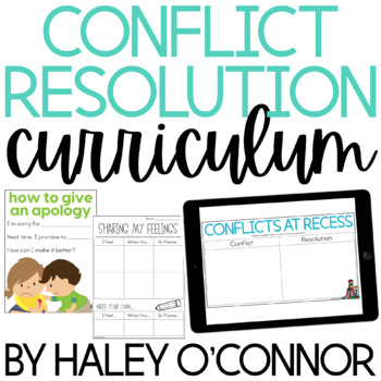 Character Education: Conflict Resolution {Lesson Plans and