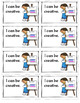 Character Education  I can… Brag Tags