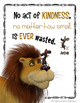 Kindness Poster & Activity - Character Education
