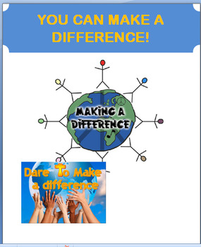 """Volunteering""""Making a Difference by Volunteering"""" 2 great"""