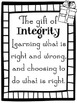Character Education: Naughty or Nice Integrity
