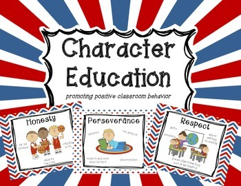 Character Education Posters & Awards